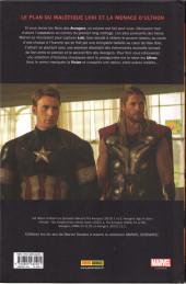 Verso de Marvel Cinematic Universe  -5- Avengers Age of Ultron - Prélude