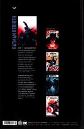 Verso de Batman Rebirth -9- L'Aile meurtrière