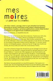 Verso de (AUT) Dionnet, Jean-Pierre - Mes Moires