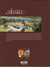 Verso de Châteaux Bordeaux - À table ! -2- Le second