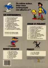 Verso de Les schtroumpfs -3b1983/06- La Schtroumpfette