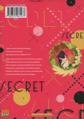 Verso de Secret XXX
