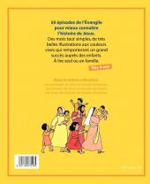 Verso de L'Évangile pour les enfants - L'Évangile pour les enfants en bandes dessinées
