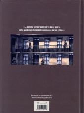Verso de De briques & de sang -a2019- De briques et de sang