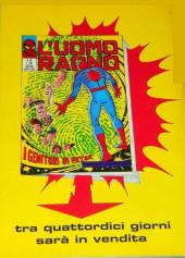 Verso de L'uomo Ragno V1 (Editoriale Corno - 1970)  -67- Schiacciare il Ragno