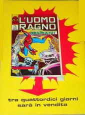 Verso de L'uomo Ragno V1 (Editoriale Corno - 1970)  -70- Fermare Kingpin!