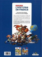 Verso de Histoire de l'Histoire de France -2- De Louis XV à Louis-Phillippe