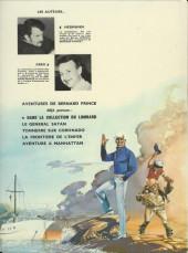 Verso de Bernard Prince -2a1971- Tonnerre sur Coronado