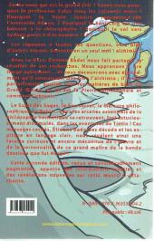 Verso de (AUT) Hergé -156a2016- La clé alchimique de l'œuvre d'Hergé