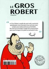 Verso de (AUT) Lindingre -1- Le Gros Robert illustré