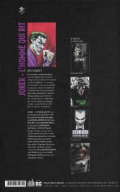 Verso de Joker : L'Homme qui rit