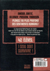 Verso de Battle Royale -INT7- Volume 7 - Ultimate Edition