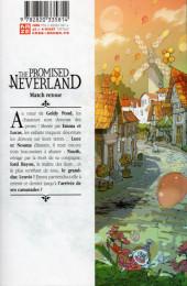 Verso de Promised Neverland (The) -10- Match retour