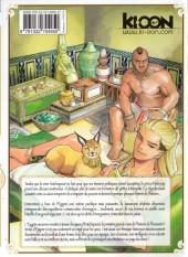Verso de Reine d'Égypte -6- Tome 6
