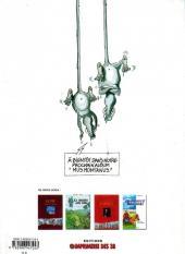 Verso de La faune des Pyrénées -1- Desman Charly, le rat trompette