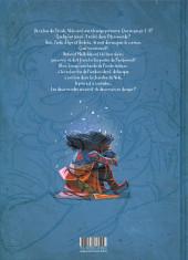 Verso de La boîte à musique -3- À la recherche des origines