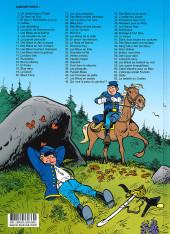 Verso de Les tuniques Bleues -63- La bataille du Cratère