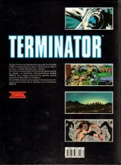 Verso de Terminator -5- Objectif secondaire 2
