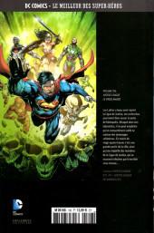 Verso de DC Comics - Le Meilleur des Super-Héros -106- Justice League - Le Virus Amazo