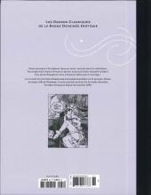Verso de Les grands Classiques de la Bande Dessinée érotique - La Collection -8888- Carré noir sur dames blanches