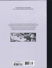 Verso de Les grands Classiques de la Bande Dessinée érotique - La Collection -8989- Anita - Tome 1