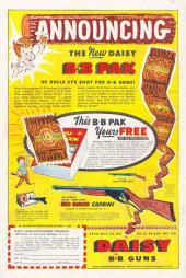 Verso de All Winners (puis All-Western Winners et Western Winners) (Timely/Atlas/Marvel - 1948) -6- The Cobra Strikes!