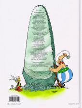 Verso de Astérix -38- La Fille de Vercingétorix