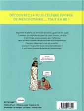 Verso de La mythologie en BD -12- Gilgamesh