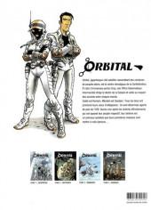 Verso de Orbital -INT01- Première époque