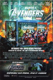 Verso de Avengers (Marvel France - 2012) [2] -4- Vision du futur