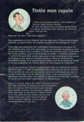 Verso de Tintin - Divers - Tintin, mon copain