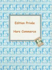 Verso de (AUT) Hergé - Timbres, chèques & points Tintin