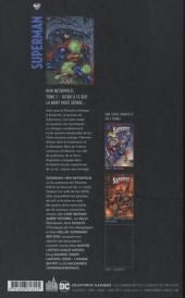 Verso de Superman - New Metropolis -2- Tome 2
