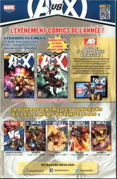 Verso de Avengers (Marvel France - 2012) [2] -10- La boîte de pandore