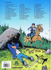 Verso de Les tuniques Bleues -20b2004- Black Face