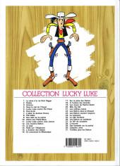 Verso de Lucky Luke -29b2004- Des barbelés sur la prairie