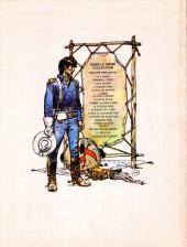 Verso de Blueberry (La Jeunesse de) -1a1976- La Jeunesse de Blueberry