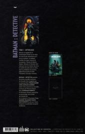 Verso de Batman : Detective -1- Mythologie
