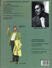 Verso de Blake et Mortimer (Les Aventures de) -6c2001- La Marque Jaune