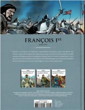 Verso de Les grands personnages de l'histoire en bandes dessinées -20- François Ier