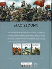 Verso de Les grands Personnages de l'Histoire en bandes dessinées -19- Mao Zedong