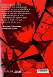 Verso de Persona 5 -1- Volume 1