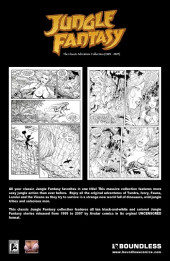 Verso de Jungle Fantasy (1999) - The classic adventure collection 1999 - 2007