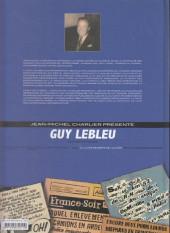 Verso de Guy Lebleu -4- La Cité secrète de la mort