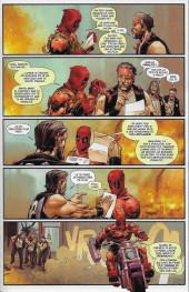 Verso de Deadpool (Marvel France 6e série - 2019)  -1VC- Tuer pour vivre