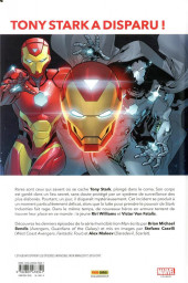 Verso de Invincible Iron Man (Marvel Legacy) -1- A la recherche de Tony Stark (1)