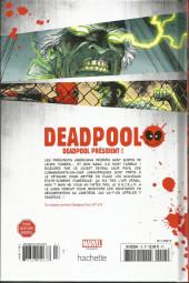 Verso de Deadpool - La collection qui tue (Hachette) -1366- Deadpool président !