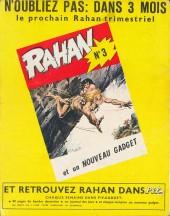 Verso de Rahan (1e Série - Vaillant) -2- Les temps sauvages