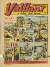 Verso de Vaillant (le journal le plus captivant) -116- Vaillant