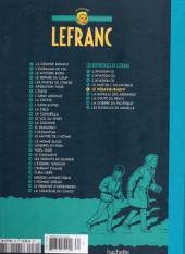 Verso de Lefranc - La Collection (Hachette) -V- Le débarquement